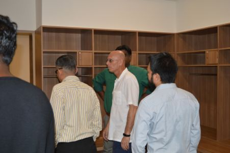 Visit Of Indian Football Team Coach Stephen Constantine With The AIFF Team (6)